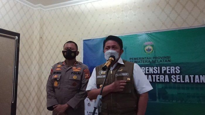 Kapolri Berikan Penghargaan PIN EMAS Kepada Gubernur Sumsel H Herman Deru