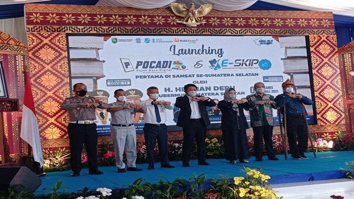 Bukan Zamannya Lagi Pendekatan dengan Ancaman, Herman Deru Launching Pocadi dan E-SKIP
