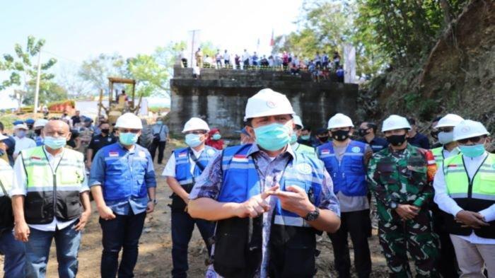 Kunker ke Kabupaten Lahat, Herman Deru Tunaikan Janji Perbaiki Infrastruktur Jembatan Hingga Irigasi