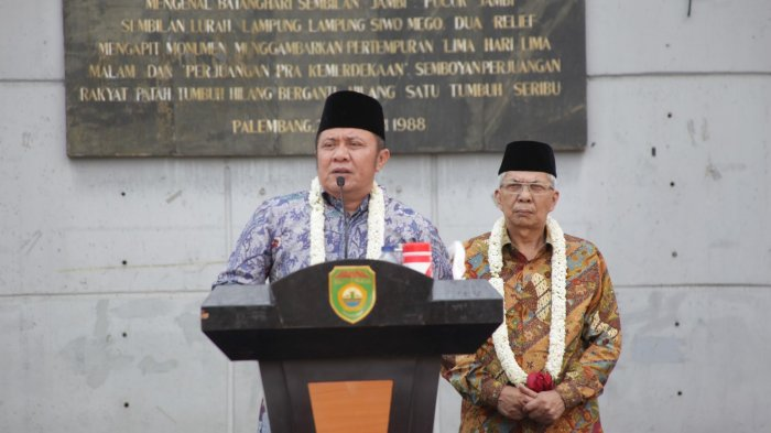 Ajak Wong Sumsel Junjung Keterbukaan,Ini Tiga Makna Pidato Herman Deru di Monpera