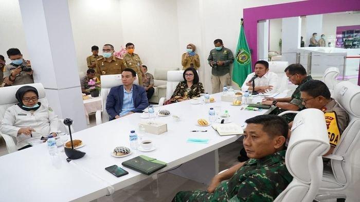 Gubernur Sumsel Minta Wako-Bupati Agresif Tangani Covid-19, Cek Bahan Pokok dan Daya Beli Masyarakat
