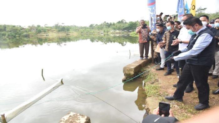 Tebar 300.000 Benih Ikan di Pagaralam, Gubernur Sumsel Herman Deru Ajak Warga Jaga Keseimbangan Alam