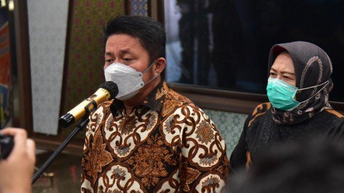 Herman Deru Kembali Ingatkan Warga Sumsel Lebih Disiplin Gunakan Masker