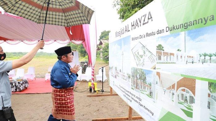 Buktikan Cinta pada Kedua Orangtua, Herman Deru Hadirkan Masjid Cantik Al Hayza di OKI