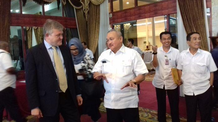 Konsul Jenderal Amerika Jajaki Bangun Infrastruktur-Teknologi Asian Games di Jakabaring Palembang