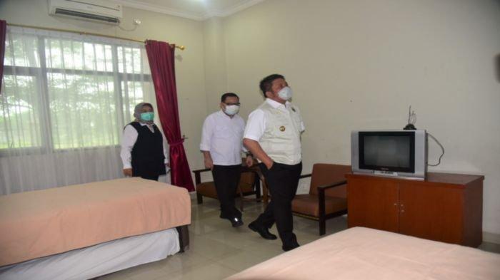 Kasus Positif Covid-19 di Sumsel Terus Bertambah, Herman Deru Siapkan Asrama Haji Palembang