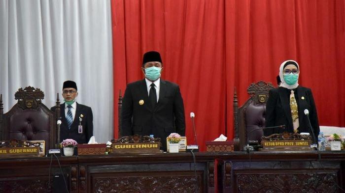 Gubernur Sumsel Herman Deru Jelaskan Langsung Tiga Raperda di Hadapan Anggota DPRD Sumsel