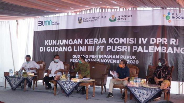 Komisi IV DPR RI Kunker Reses ke Gudang Penyimpanan Pupuk Pusri di Pekalongan