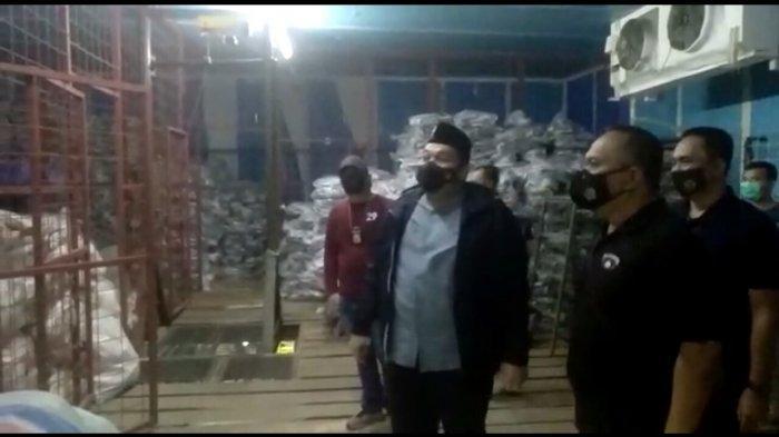 Penampakan 8,3 Ton Ikan Giling Berformalin di Pasar Induk Jakabaring Palembang, Bahan Pembuat Pempek