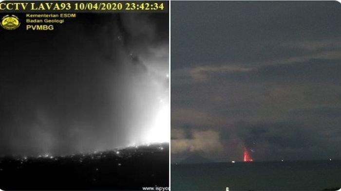Gunung Anak Krakatau Erupsi Jumat Malam, Netizen Heboh Dengar Suara Dentuman Aneh di Jabodetabek