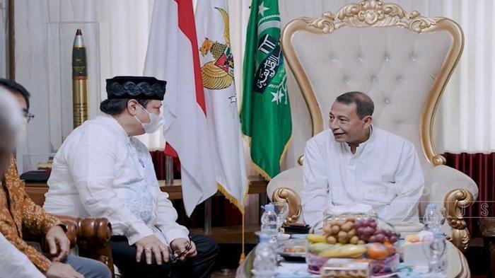 Silaturahmi Kediaman Habib Luthfi Pekalongan, Airlangga: Beliau Orangtua Kita
