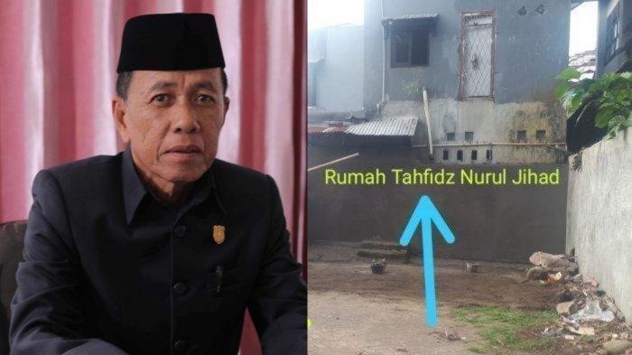 Anggota DPRD Pangkep Tutup Jalan Umum ke Rumah Tahfiz, Bangun Tembok 3 Meter, Ini Sosok H Amiruddin