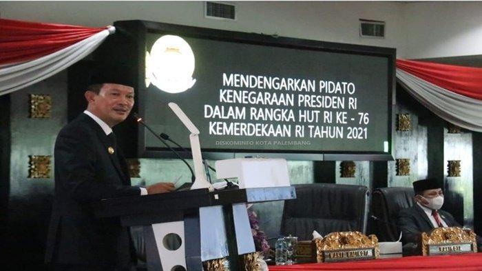 Upacara Hanya dihadiri 12 Orang Pimpinan Forkompinda Kota Palembang