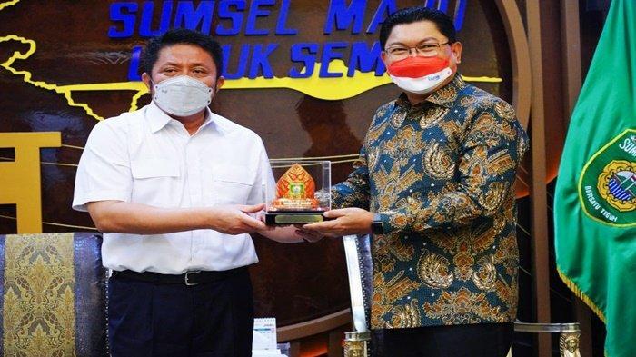 HD Ajak Bank Mandiri Jadi Mitra Petani Sumsel