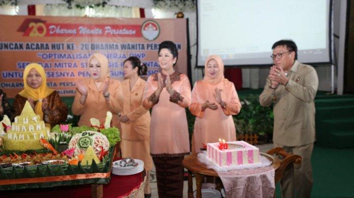 Hadiri HUT DWP, Sekda Sumsel Nasrun Umar Tekankan Soal Kesetaraan Gender