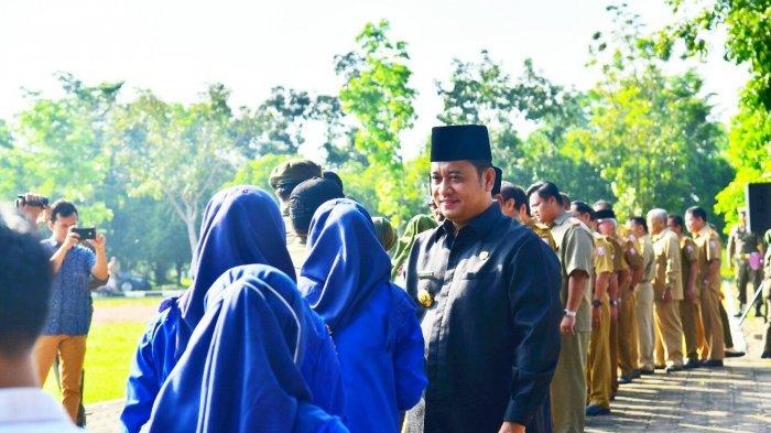 Pimpin Apel Gabungan dan Halal Bihalal Idul Fitri 1440 H, Askolani Imbau ASN agar Tetap Disiplin