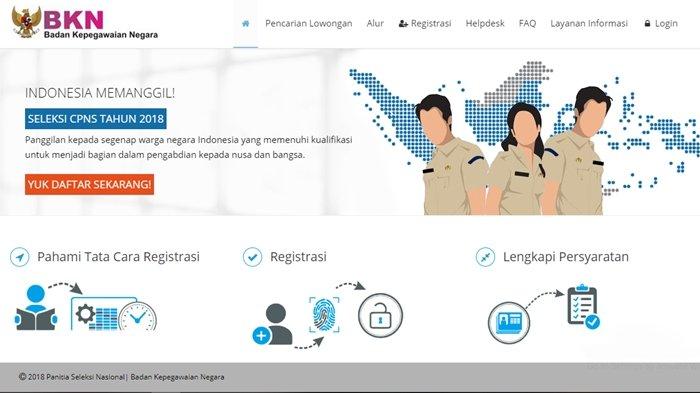 Pelamar CPNS di OKU Timur Dibuat Cemas, Website BKN Tak Kunjung Bisa Diakses