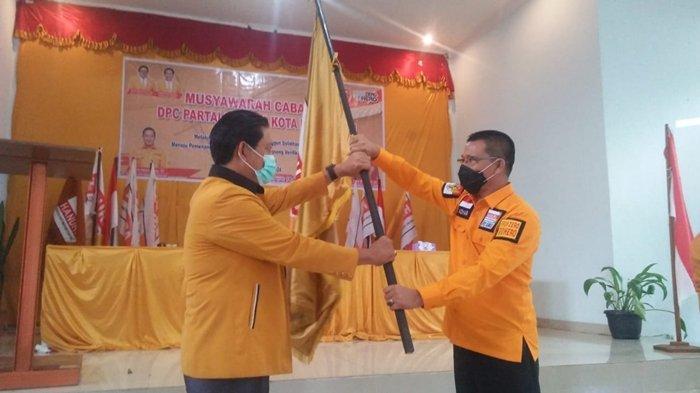 H Bana Jadi Ketua DPC Hanura Pagaralam 2021-2026, Targetkan Lima KursiDPRD pada 2024