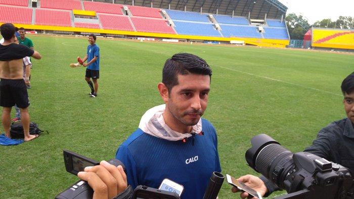 Berharap Cepat Jadi WNI, Esteban Vizcarra Ingin Wujudkan Mimpi Juara Bersama Sriwijaya FC