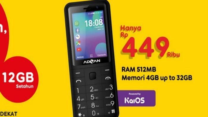 Harga dan Spesifikasi Lengkap 4G Smart Feature Phone yang Dilengkapi dengan Sistem KaiOS