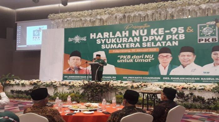 Hari Lahir Nahdatul Ulama (NU), PKB Sumsel Patok Target di Pemilu 2024