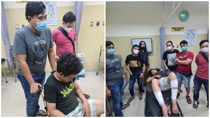 Saat Merampok Sangar Sambil Kibaskan Parang, Haris Merengek Ditangkap Polrestabes Palembang