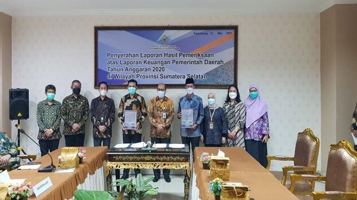 Walikota Palembang Harnojoyo Kembali Terima WTP 11 Kali Berturut-turut