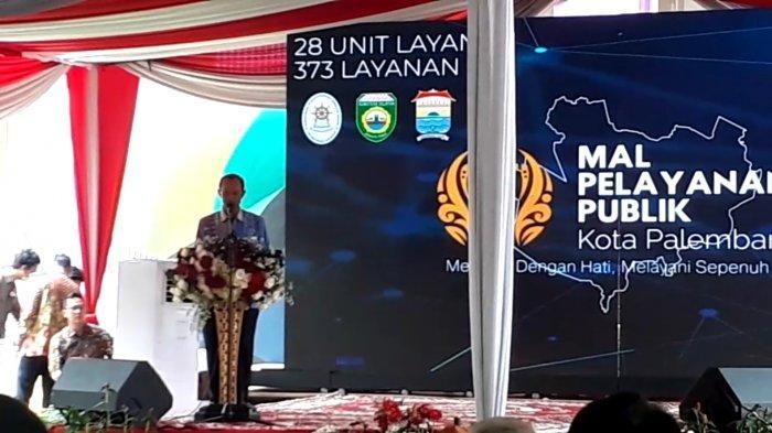 Walikota Palembang Harnojoyo : Diharapkan MPP Ini Bisa Mempermudah Masyarakat Mendapatkan Layanan