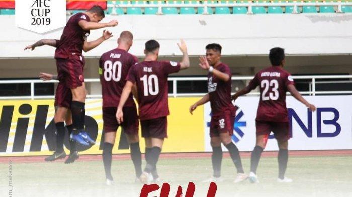 CUPLIKAN GOL Lao Toyota vs PSM Makassar di Piala AFC 2019 Berakhir Dengan Skor 0-3