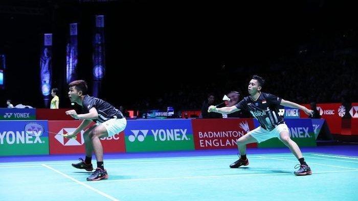 SEDANG BERLANGSUNG Live Streaming TVRI Semifinal Malaysia Open 2019, Fajar/Rian Vs Takeshi/Keigo