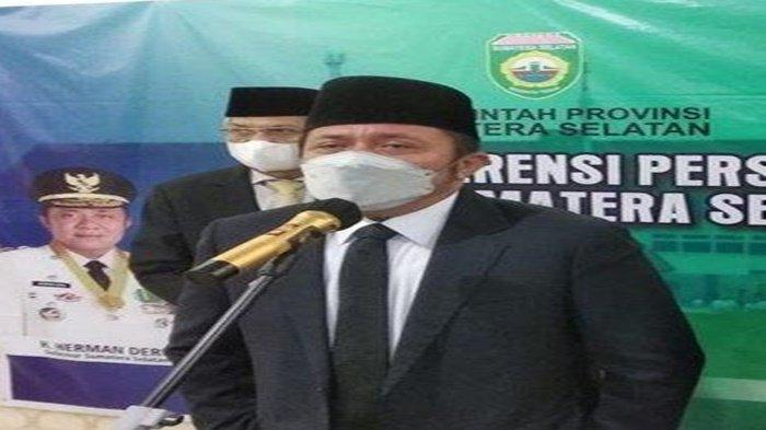 Respon Gubernur Herman Deru Soal Seorang Walikota di Sumsel Kena Tegur Mendagri Soal Insentif Nakes