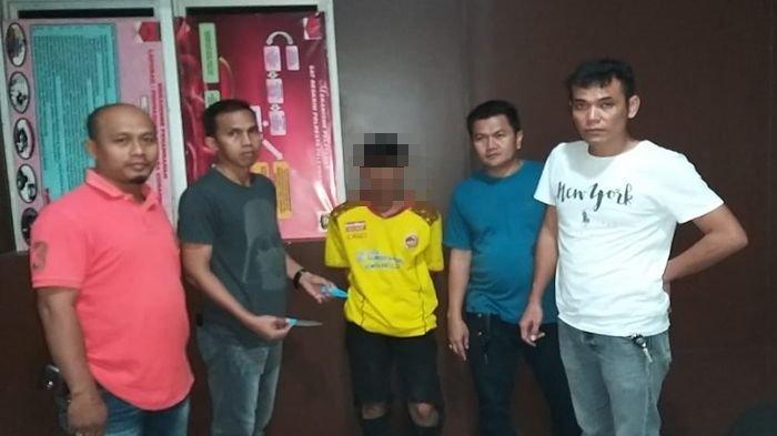 Satu dari 8 Tersangka Begal Terhadap Penonton Sepakbola Sriwijaya FC Vs Perserang Ditangkap Polisi