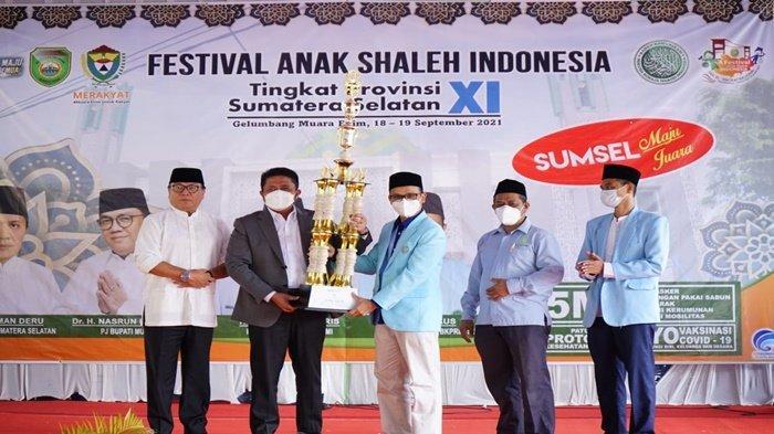 HD Tutup FASI IX Tingkat Provinsi, Palembang Raih Juara Umum