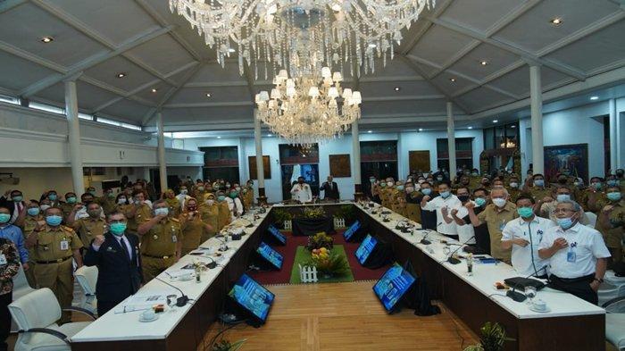 Acara peringatan dua tahun masa HDMY di Pemprov Sumsel.