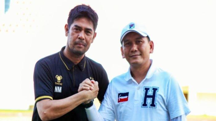 Kepala Pelatih Sriwijaya FC Nil Maizar Masih Kejar Performa Terbaik Dedi Hartono Cs
