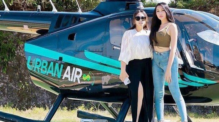 LANGGANANNYA Artis Ternama, Selebgram Maharani Kemala Geluti Bisnis Rental Helikopter