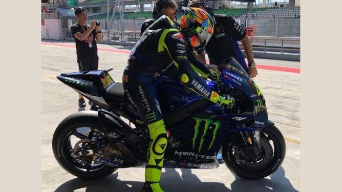 Jajal Sirkuit Baru MotoGP, Valentino Rossi Sebut Motornya Bisa 'Terbang' 3 Kali