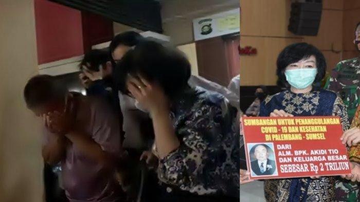 Dikawal Petugas Heriyanti dan Suami Tinggalkan Polda Sumsel, Pengamat Soroti Status Anak Akidi Tio