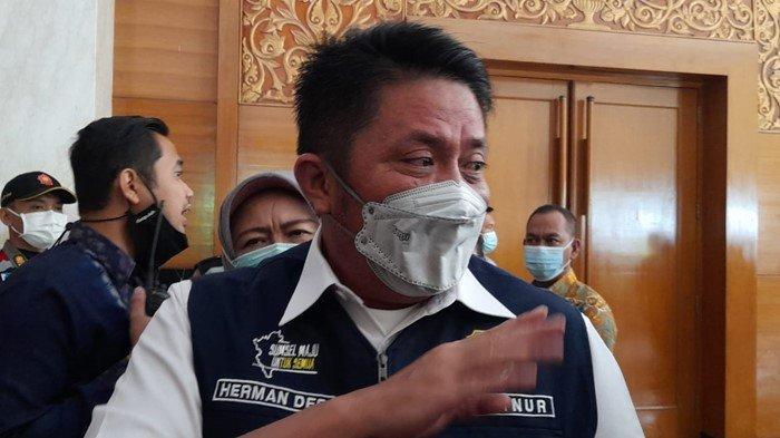 Palembang Kembali Zona Merah Covid-19, Gubernur Sumsel Herman Deru Perintahkan Ini ke Walikota