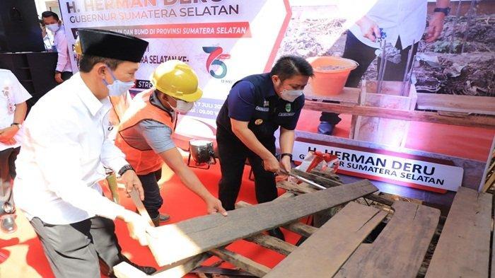 Launching Bedah Rumah, HD: 75 Tahun Provinsi Sumsel, 75 Rumah Siap Dibedah