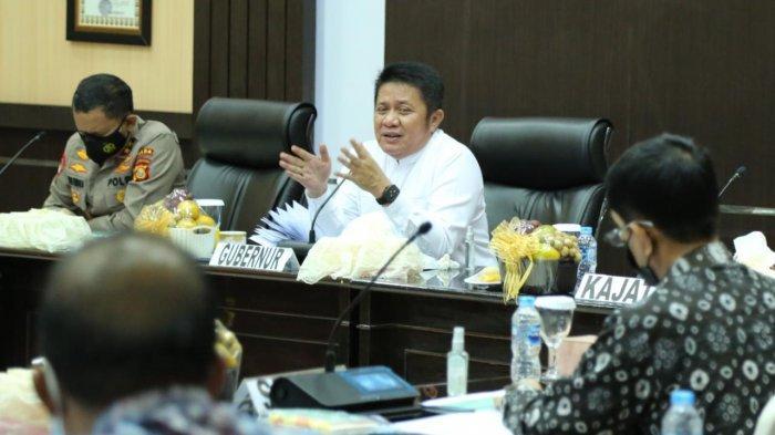 Palembang PPKM Level 4, Gubernur Herman Deru Siapkan Unlimited Anggaran untuk Covid-19 di Sumsel