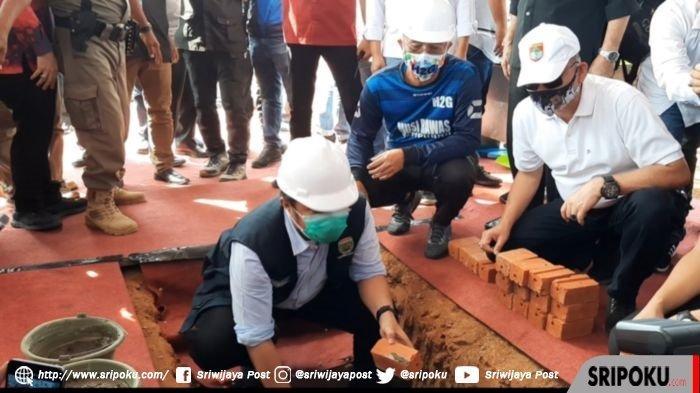 Herman Deru Letakkan Batu Pertama Pembangunan Tribun Stadion Sepak Bola Musirawas, Standar FIFA