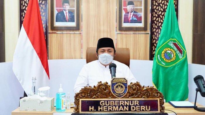 Gubernur Sumsel Ikuti Zikir dan Doa Kebangsaan 76 Tahun Indonesia Merdeka, Dihadiri Presiden Jokowi