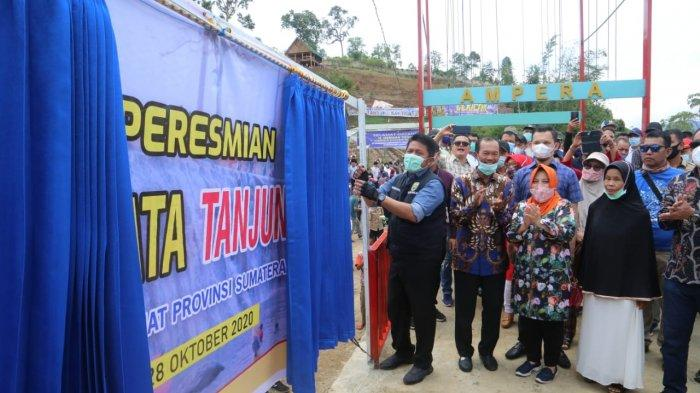 Pulihkan Ekonomi Masyarakat, Herman Deru Resmikan Agrowisata Tanjung Sakti di Desa Sindang Panjang
