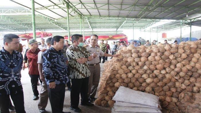 Tiongkok, Thailand, Vietnam & Malaysia Minati Kelapa Sumsel, 2021 Sudah 22,3 Ribu Ton 164 Pengiriman