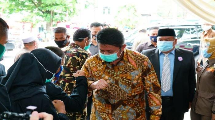 Herman Deru Kenang Jasa Alm Ki. H.A Malik Tadjuddin Majukan Agama Islam di Sumsel