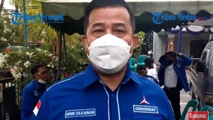 Siapa Herri Zulkarnain, yang Diserang Massa Pro KLB Demokrat, Politisi Pengagum SBY, Mantan Satpam