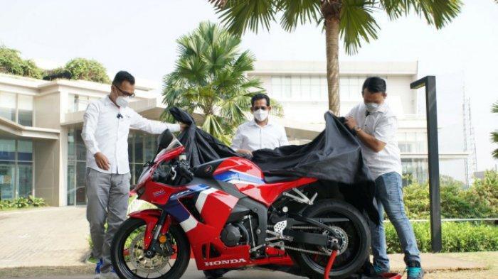 PENAMPAKAN Sepeda Motor Honda CBR600 F4, Ini Orang Pertama di Indonesia Sebagai Pemilik yang Resmi