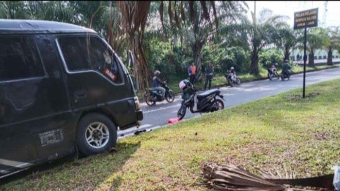 Honorer di Banyuasin Korban Tabrak Lari di Depan Kantor Samsat Banyuasin, Mobil Ditinggal Kabur