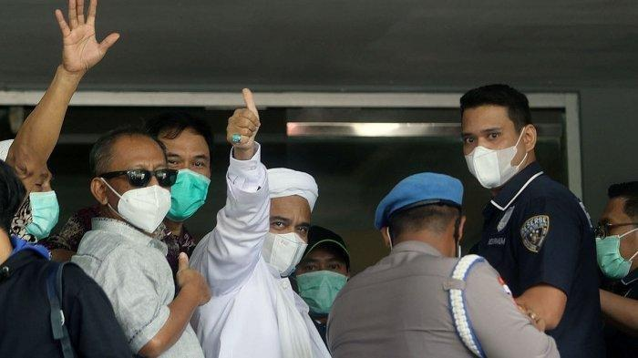 Rizieq Shihab Ungkap Ada Tekanan Berat dari Luar Sehingga Memaksa Pulang dari RS Ummi Bogor
